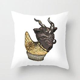 Midas Hen Throw Pillow