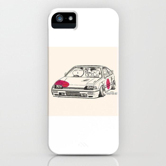 Crazy Car Art 0165 iPhone Case