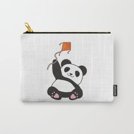 Panda with Kite Carry-All Pouch