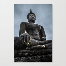 blind gold Canvas Print