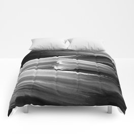 Dark Oily Mess Comforters