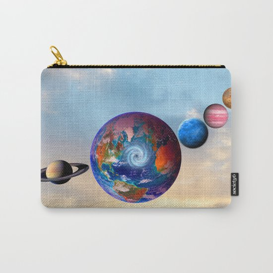 Gaia's friends #society6 Carry-All Pouch