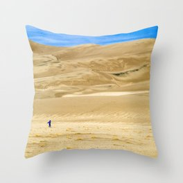 Great Sand Dunes, CO Throw Pillow
