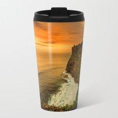 Sunny Wave Metal Travel Mug