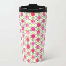 Watermelon Radish pattern Travel Mug