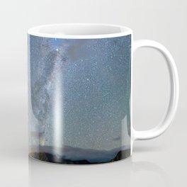 New Zealand Southern Hemisphere Skies Over Lake Wakatipu Coffee Mug