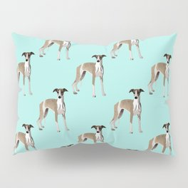 Whippet Love Pillow Sham