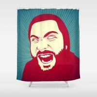 scream Shower Curtains featuring Scream by FalcaoLucas