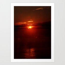 Morning Sunrise Art Print