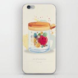 Jar of Memories iPhone Skin