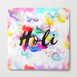 Holi Metal Print
