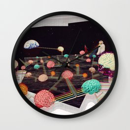 THE CONQUEST OF THE PARADISE Wall Clock