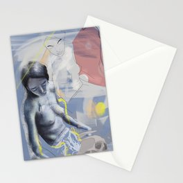Rising love Stationery Cards