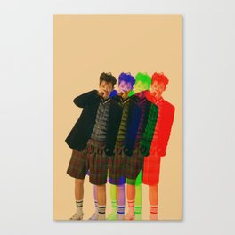 3D Chanyeol Canvas Print