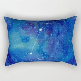 Constellation Aries Rectangular Pillow