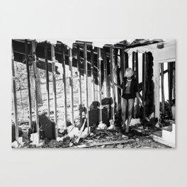 Trashy Canvas Print