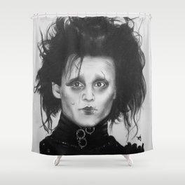 Edward Scissorhands Shower Curtain