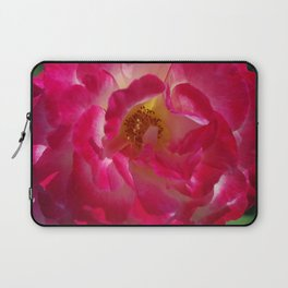 A Rosy Glow - Double Delight Rose Laptop Sleeve