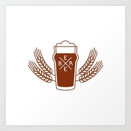 Beer Art Print