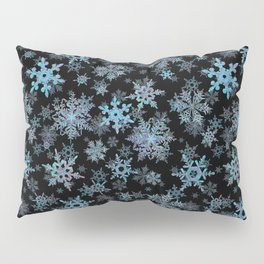 """Embroidered"" Snowflakes Pillow Sham"