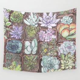Succulents 1 Wall Tapestry