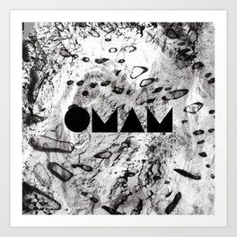 OMAM MARBLE Art Print