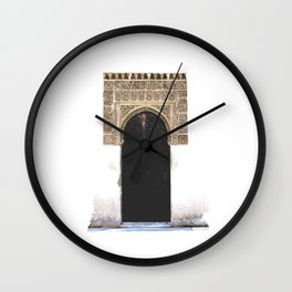 Alhambra Door Wall Clock