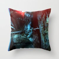yosemite Throw Pillows featuring Yosemite by Webe Love