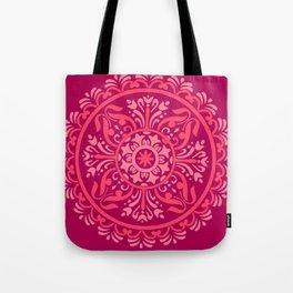 Pink Madala Tote Bag