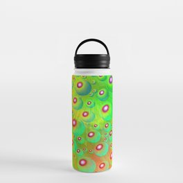 A Crash of Colors, fantasy art Water Bottle