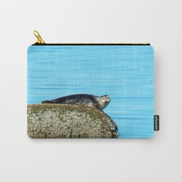 Seal pup stare-down  Carry-All Pouch