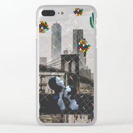 Strikhedonia Clear iPhone Case