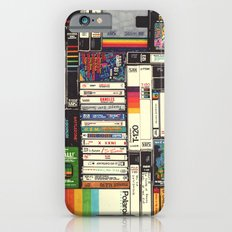 Cassettes, VHS & Atari iPhone 6s Slim Case