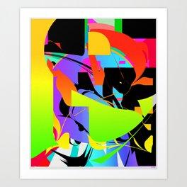 EXPLORE 1 Art Print