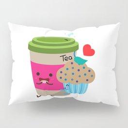 Tea and Muffin Pillow Sham
