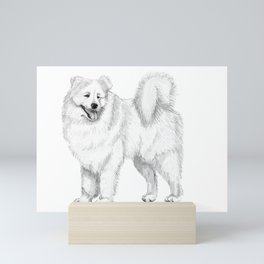 Samoyed Mini Art Print