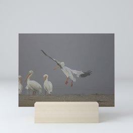 A Flight in the Fog  Mini Art Print