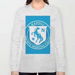Naples Horse Football badge Long Sleeve T-shirt