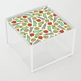 New York, New York Pattern Acrylic Box