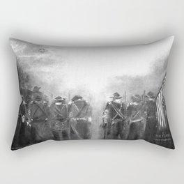Gettysburg Anniversary of 150 Years Rectangular Pillow