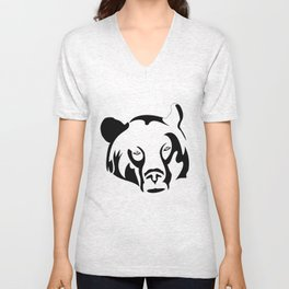 Lazy Grizzly Unisex V-Neck