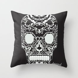 calaverita de azucar Throw Pillow