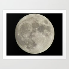 moon 2015 II Art Print