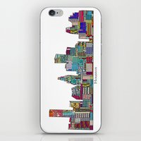 houston iPhone & iPod Skins featuring Houston by bri.buckley