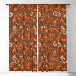 Amusing red cat Blackout Curtain