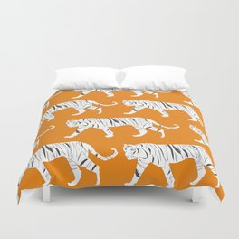 Tiger Print Duvet Cover