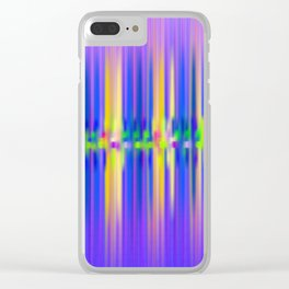 Seismic Shift Dusk Clear iPhone Case