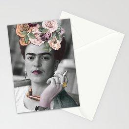Frida Kahlo Flowers Stationery Cards