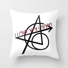 Love you 3000 Throw Pillow
