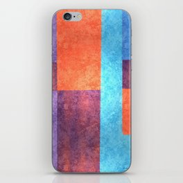 Abstract Geometric Space 1 iPhone Skin